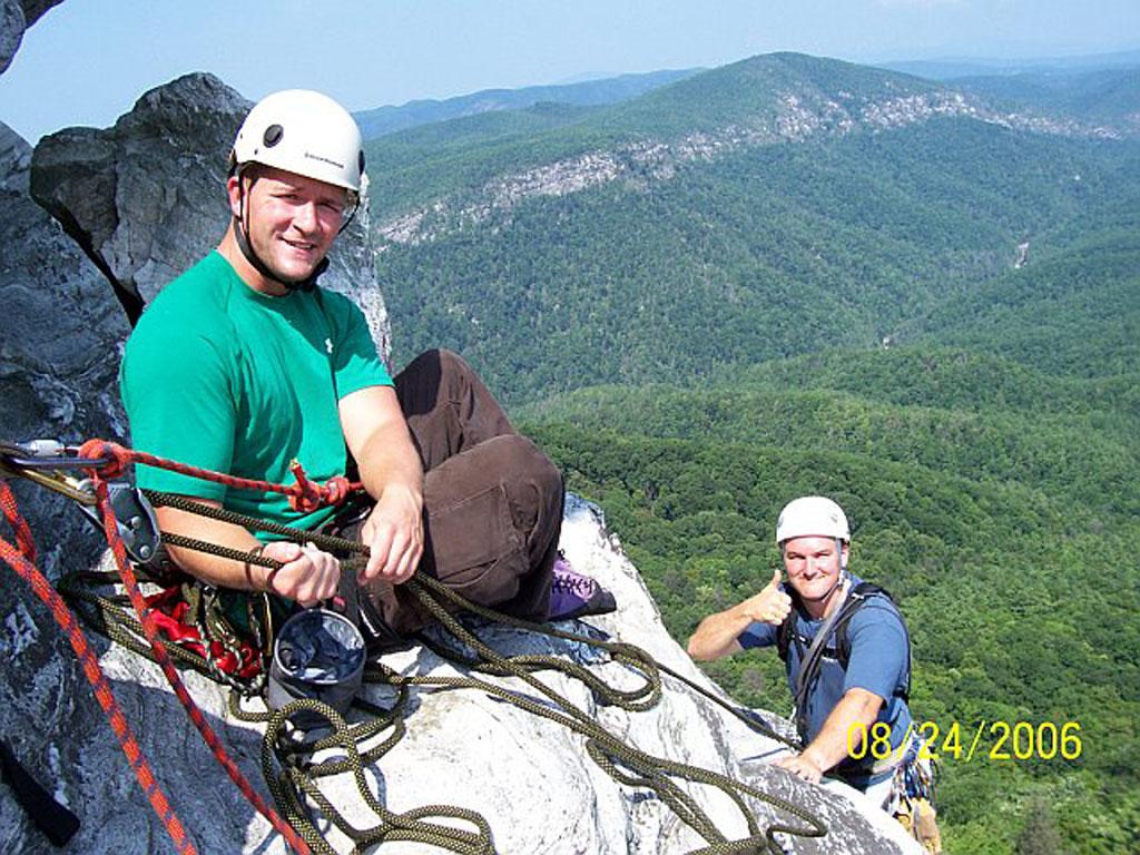 multi pitch rock climbing certified climbing instruction